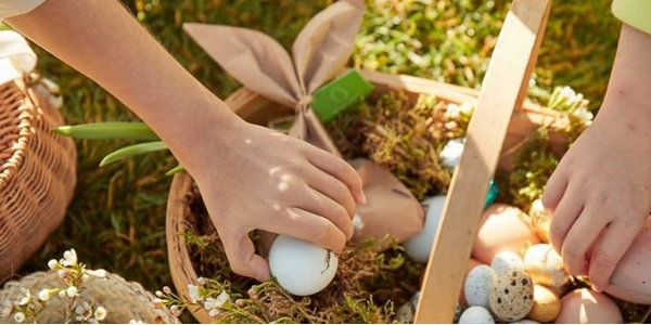 Easter Egg Coloring, Egg Hunting And Dinner At Jacir Palace